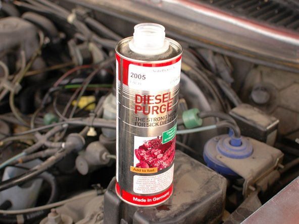 How to purge your Mercedes W123 diesel