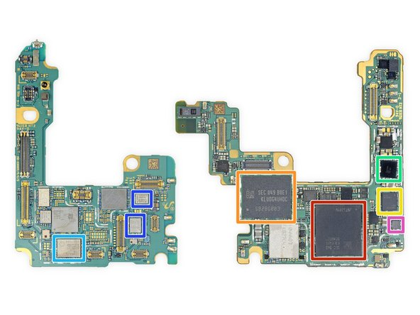 Do these boards look like howling dogs? Anyways, let's check out what makes this phone tick: