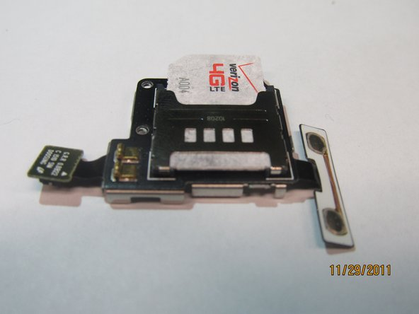 Samsung Droid Charge SIM Card Port Replacement
