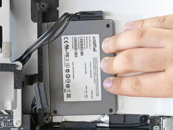 """安装iMac Intel 27"""" EMC 2429 双驱动器组件(机械硬盘或固态硬盘)"""