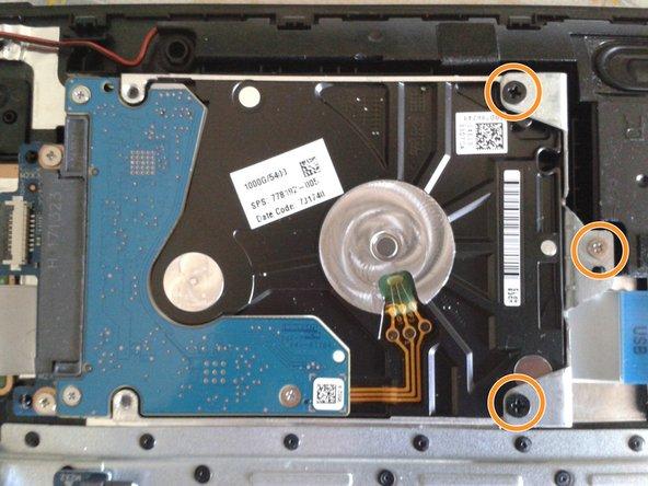 Reemplazo de disco duro de laptop HP 15-bs015dx