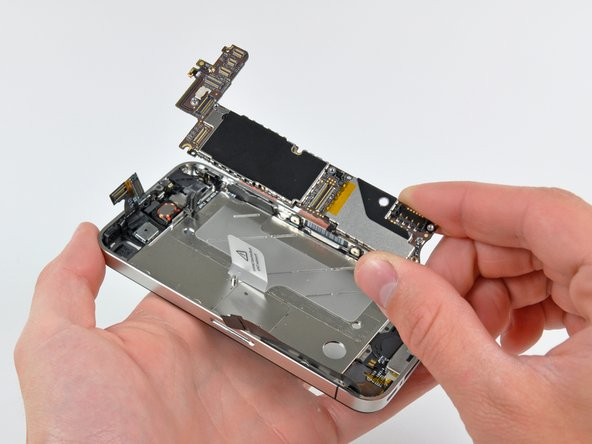 Removing the logic board.