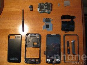 Samsung Omnia i910 Teardown
