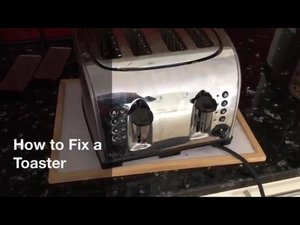 How to fix a blown heater element in a Toaster