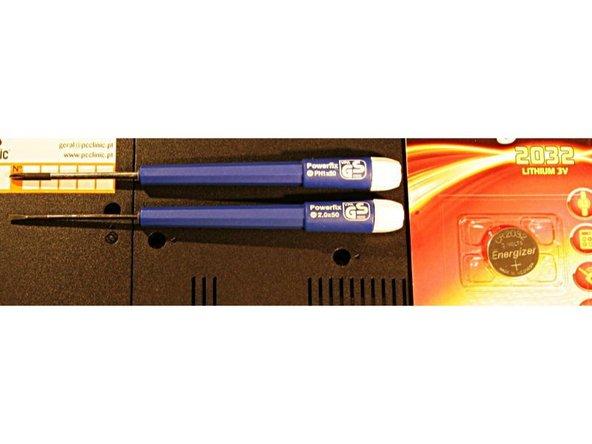 Fujitsu Siemens Esprimo Mobile v5515 CMOS Battery Replacement