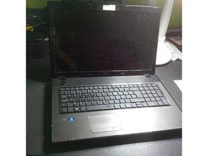 Disassembling Acer Aspire 7551G