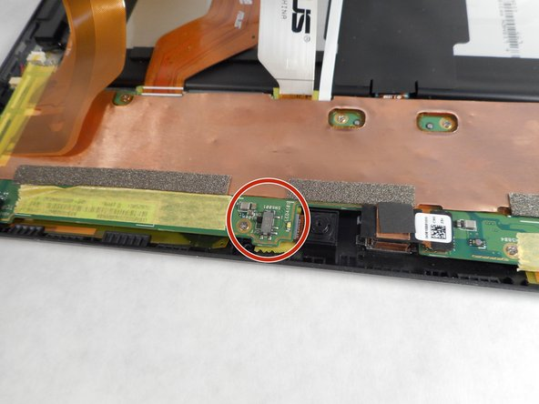 Before disconnecting the display cables, turn off the switch labeled DIP; this switch is used to de-energize the system.