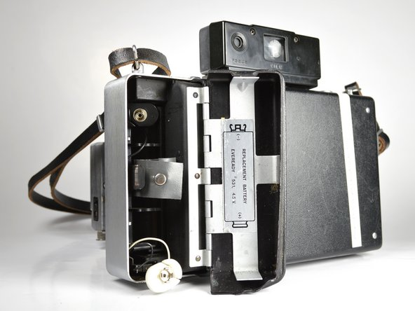 Polaroid Automatic 100 Battery Replacement