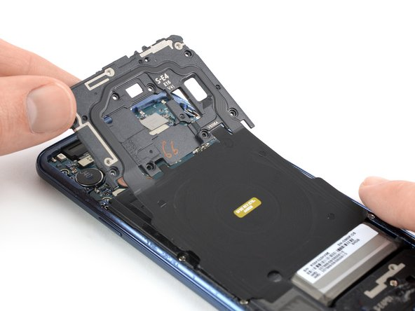 Samsung Galaxy S9 NFC Antenna and Charging Coil Replacement