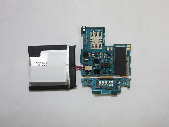 Samsung Gear S Battery/ Motherboard Replacement