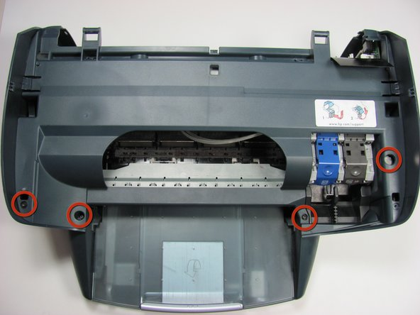 How to clean the HP PSC 2410 Photosmart All In One Printer Feed Rollers