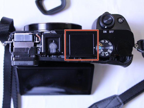Sony α6000 Flash Assembly Replacement