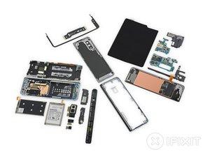 Smontaggio Samsung Galaxy Fold