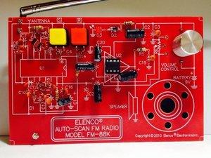 Elenco Auto-Scan FM Radio Model FM-88K Repair