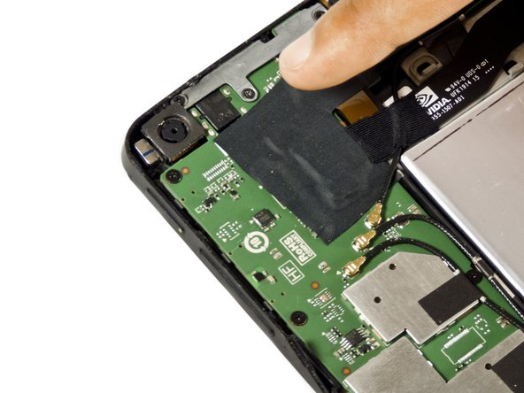 Nvidia Shield Tablet Front and Rear Camera Replacement