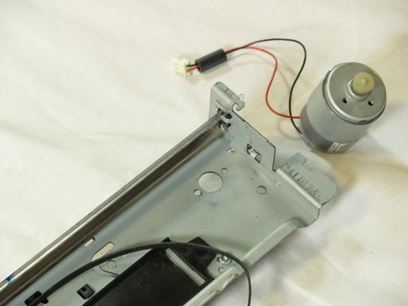 HP Photosmart c3180 Driver Motor Replacement