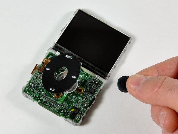 iPod 5th Generation (Video) Click Wheel Button Replacement
