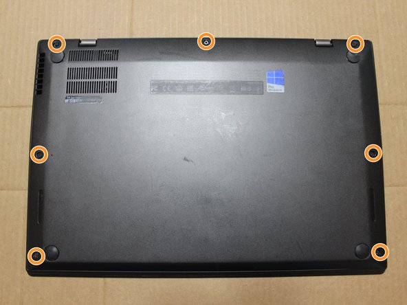 ThinkPad X1 Cover Removal