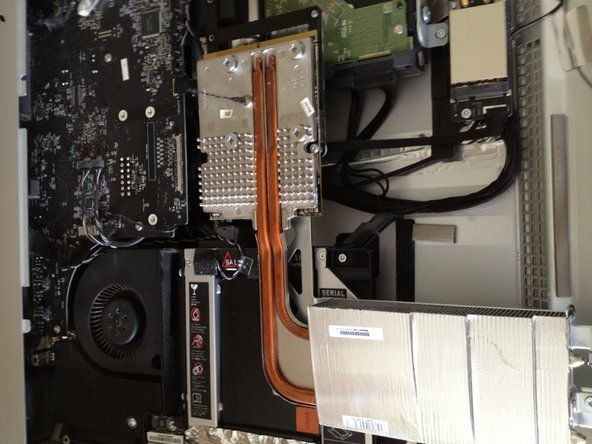 Slowly and carefully pull the graphics card up and away from the motherboard