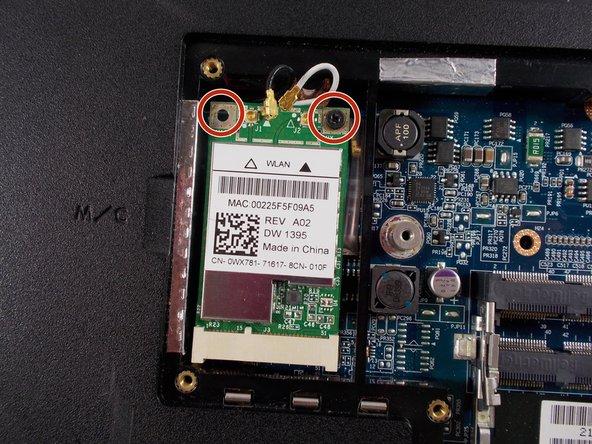 Dell Vostro 1710 Wi-Fi Card Replacement