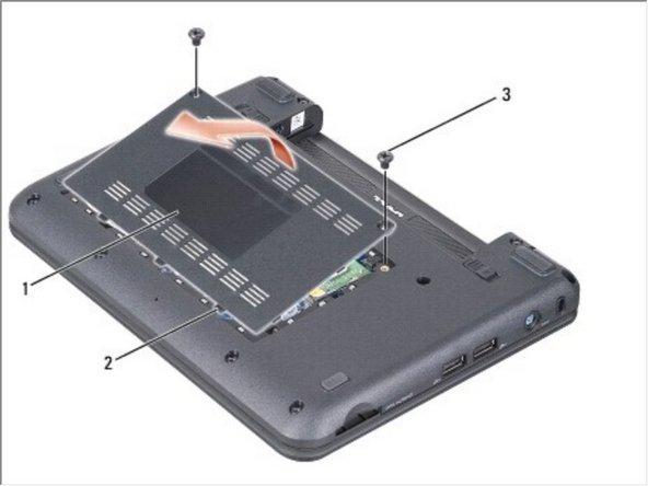 Dell Vostro A90 Memory Module Replacement