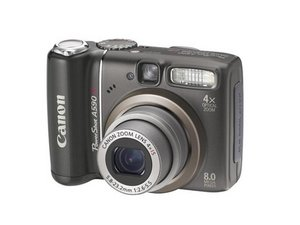 Reparo de Canon PowerShot A590 IS