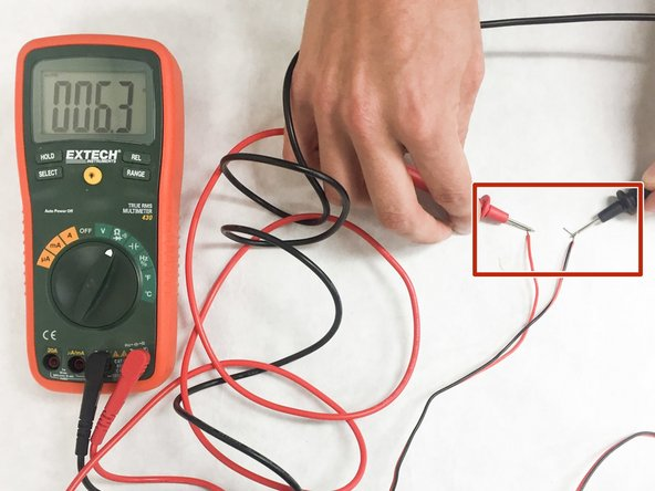 To test the continuity of the wires themselves and both ends of a single wire and test the  continuity.