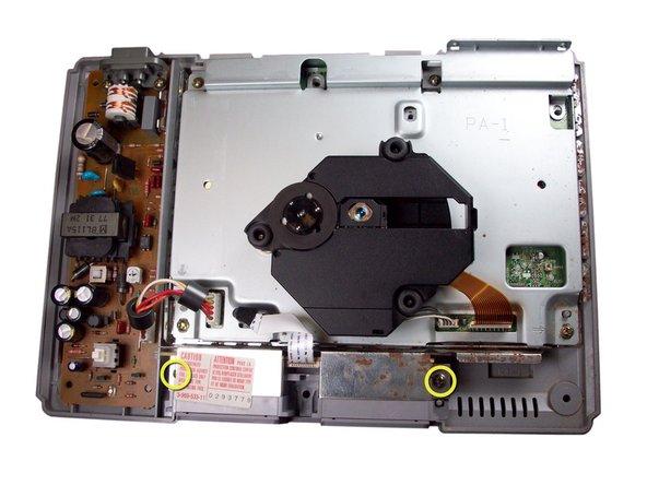 PlayStationのコントローラポートの交換
