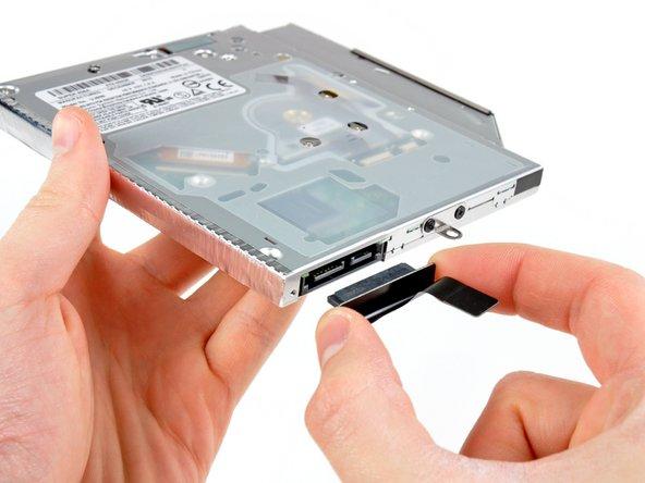 MacBook Pro (13 Zoll, Mitte 2012, Unibody) optisches Laufwerk Austausch