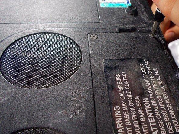 Toshiba Satellite 2435-S255 Heat Sink Replacement