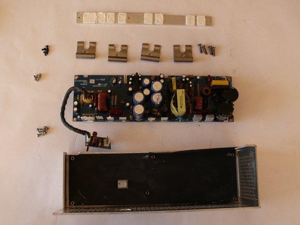 Behringer Eurolive B212D Audio Amplification PCB Replacement