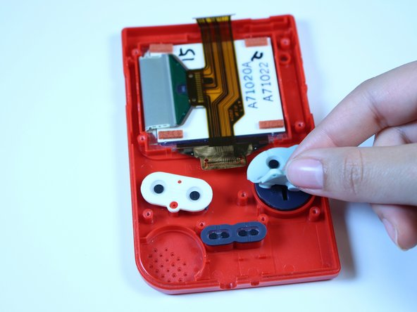 Game Boy Pocket Buttons Replacement