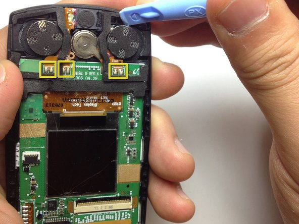 Samsung SGH A707 Speaker Replacement