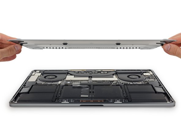 """Remove back case. Following this guide: MacBook Pro 15"""" Touch Bar Late 2016 Lower Case Replacement"""