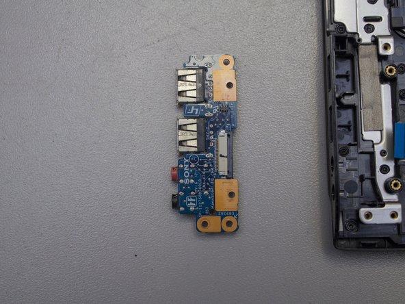 Sony VAIO SVE14AJ16L I/O Card Replacement