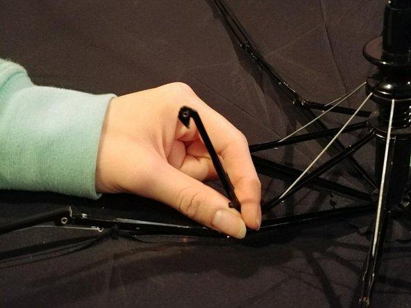 Umbrella Stretcher to Rib Joint Repair