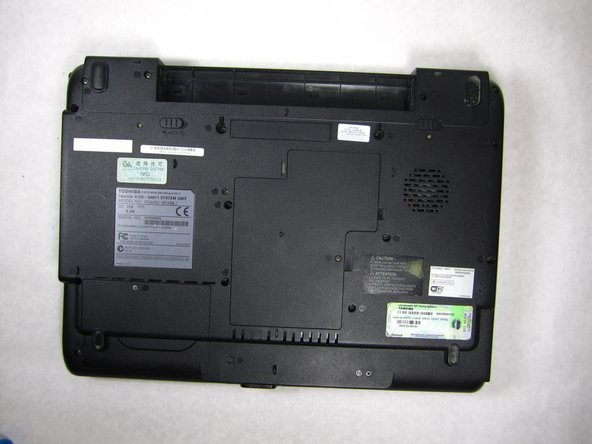 Toshiba Satellite A105-S4011 Hard Disk Drive Replacement