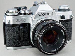 Canon AE-1修理