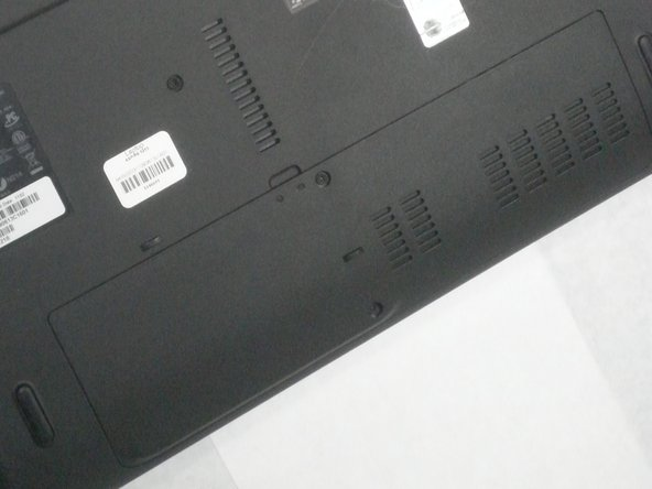 Acer Aspire 5253 Back Cover Panel Replacement