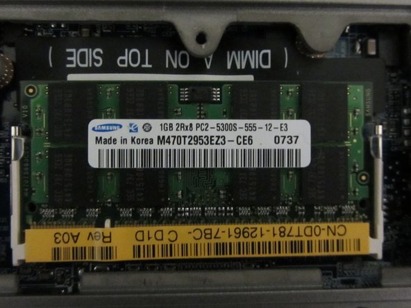 Dell Latitude D630 RAM (Slot B) Replacement