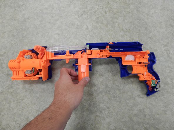 Nerf N-Strike Elite Hail-Fire Inner Plastic Components Replacement
