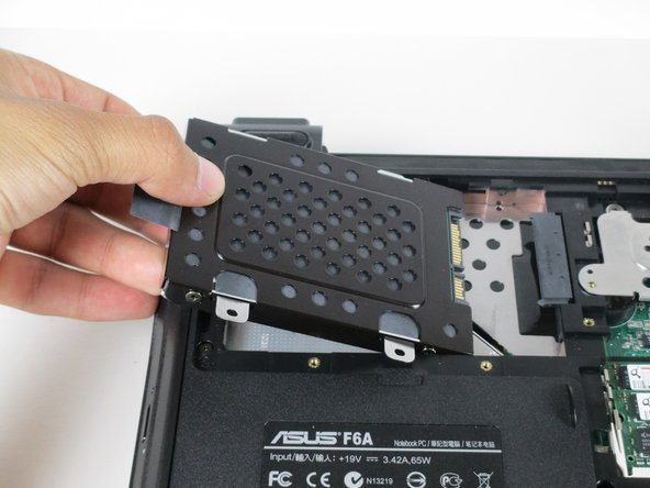 Asus F6A-X2 Hard Drive Replacement