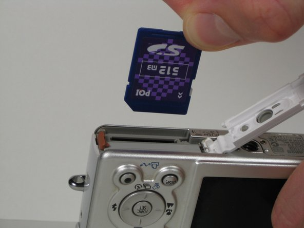 Canon PowerShot SD200 Memory Card Replacement