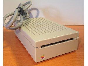 Apple 3.5 Drive External Floppy Drive Teardown