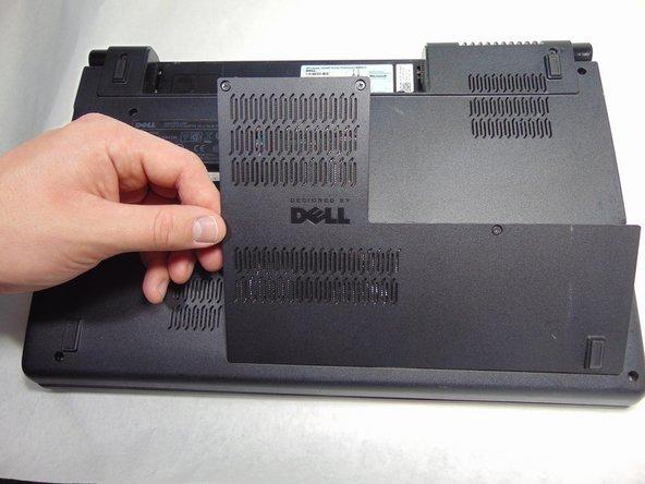 Dell Studio 1555 Back Panel Removal