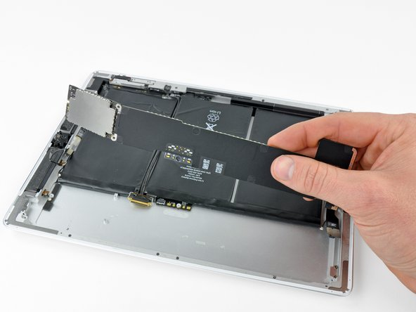 Remove the logic board from the iPad 2.
