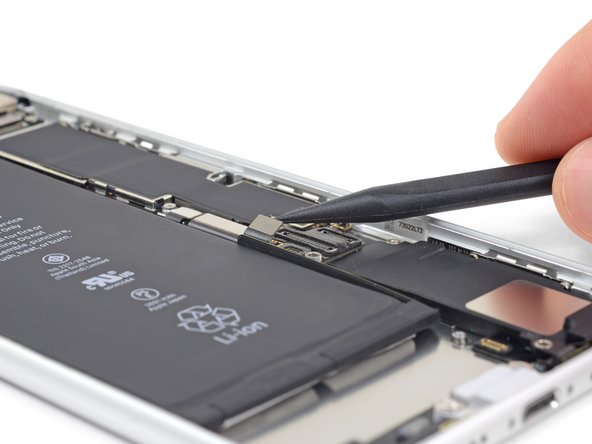 Be sure to disconnect the battery again before reassembling your iPhone.