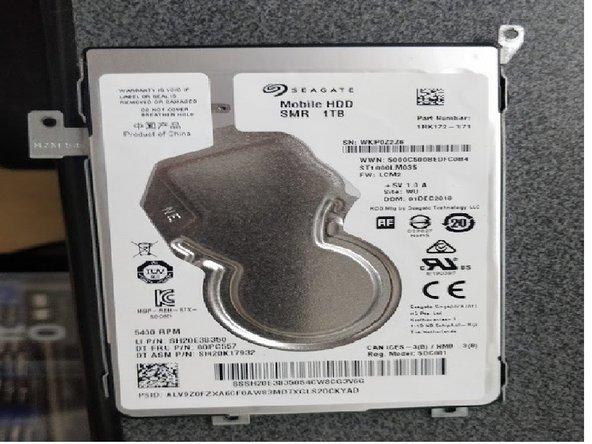 Lenovo IdeaPad 330S Hard Drive Replacement