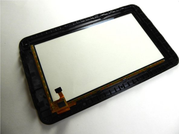 Replace the front screen to replace the digitizer.