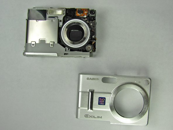 Casio Exilim EX Z55 Front Case Replacement